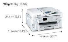 Harga dan Spesifikasi Printer Epson WorkForce WF-3521 Terbaru 2017 Epson, Printer, Dan, Printers
