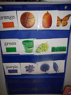 this blog has links to printable flash cards, story props & more!