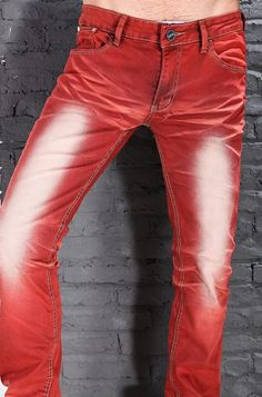 Wholesale Retail 2013  Mens  Red Skinny Jeans Fashion For Men, Casual Male Slim Fit Faded Jeans Pants, Narrow Trousers MTS30