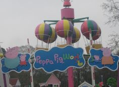 I want to bring my son here one day. He loves peppa pig show.