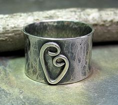 A sweetheart of a ring to remind you of your sweetheart!  from Lavender Cottage Jewelry