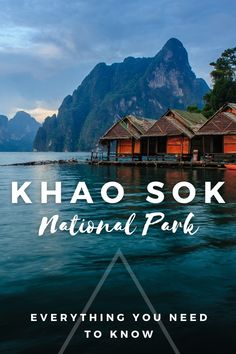 Complete Guide to Khao Sok National Park - everything you need to know about visiting Khao Sok National Park I national parks in Thailand I parks in Thailand I things to do in Thailand I places to go in Thailand I what to do in Thailand I Thailand destinations I visit Thailand I where to go in Thailand I Thailand travel I Southeast Asia travel I travel tips for Thailand I Thailand travel tips I Thailand travel advice I information on travel in Thailand I guide to Lake Cheow Lan I #Thailand