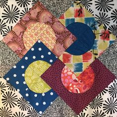 Delilah Quilt BOM by Jen Kingwell~Month 1 @intownquilters