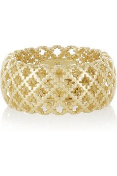 Gucci | Diamantissima 18-karat gold ring | NET-A-PORTER.COM