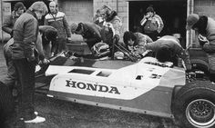 Thierry Boutsen gave the turbocharged F1 Spirit-Honda its debut at a wet Silverstone.