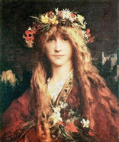"Jules-Elie Delaunay (1828-1891), ""Ophélie"" by sofi01, via Flickr"