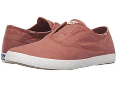 Keds - Champion Chillax Washed Twill (Auburn) Men's Slip on  Shoes - Brought to you by Avarsha.com