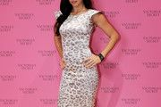 Adriana Lima Print Dress