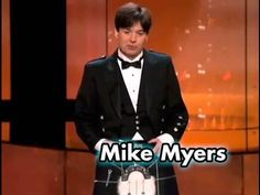 Mike Myers Salutes Sean Connery In A Kilt at the AFI Life Achievement Award - This is how you do a tribute.