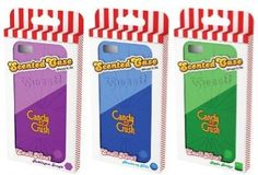 Candy Crush Scented Cell Phone Cases http://onoconcept.com/sweetcollection/