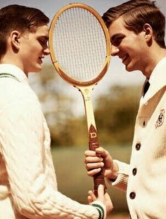 Preppy - Tennis Sweaters and Tennis Preppy Boys, Preppy Style, Style Men, Outfit Man, The Sporting Life, Ivy League Style, Ivy Style, Vintage Tennis, Vintage Sport