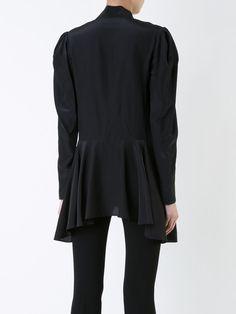 Lanvin Hemd mit Schleifenkragen