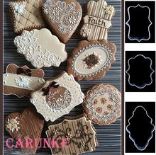 Vários diy aço inoxidável cortador de biscoitos doces de corte cortadores de biscoito mold tools cozinha moldura de metal natal molde de corte(China (Mainland))