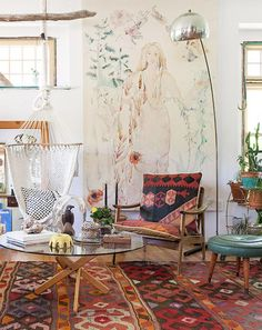 Bohemian home of Emily Katz   see more images here Follow...   Gravity Home Tumblr   Bloglovin'
