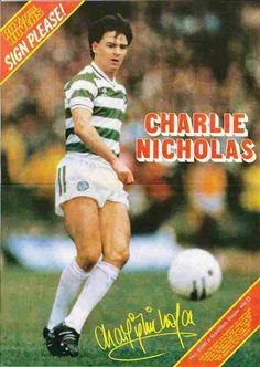 Charlie Nicholas of Celtic in 1983.