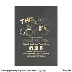 Engagement Invitation Cards, Invitation Wording, Custom Invitations, Invitation Ideas, Invitation Templates, Engagement Cards, Invitation Design, Wedding Party Invites, Brunch Wedding