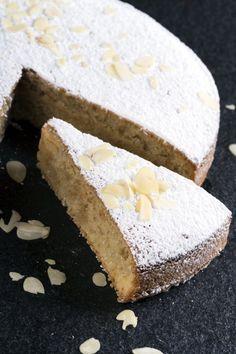 Κέικ αμυγδάλου με καρύδα Vanilla Cake, Food And Drink, Keto, Cookies, Sweet, Desserts, Recipes, Crack Crackers, Candy