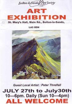 Bolton le Sands Annual Exhibition Guest Artist