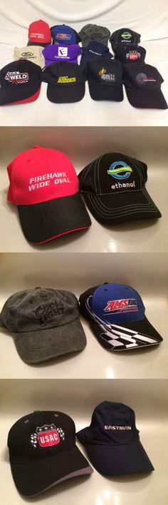 Racing-Indy 1228: Lot Of 12 Racing Car Auto Related Baseball Caps Hats Indy Car Nascar Usac And More -> BUY IT NOW ONLY: $100 on eBay!