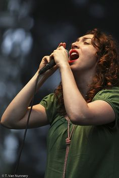 "Regina Spektor. ""And then that word grew louder and louder, until it was a battle cry. I'll come back when you call me, no need to say goodbye."""