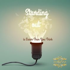 Standing out is easier than you think. #nawrb