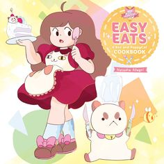 Easy eats a bee and puppycat cookbook 9781421588056 hr