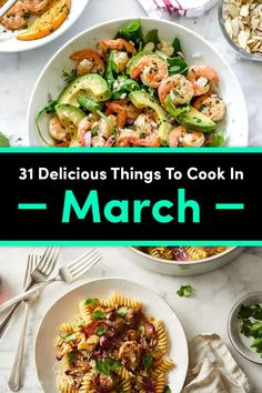 31 Recipes You Should Be Cooking In March - Burger Recipes Healthy Dinner Recipes, Cooking Recipes, Healthy Foods, Yummy Recipes, Healthy Spring Recipes, Healthy Dinners, Amazing Recipes, Drink Recipes, Cooking Tips