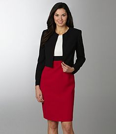 Women's Business Suit Skirt & Jacket Set $169.99 | Pageant Tips ...