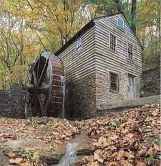 Image Search Results for grist mill Old Grist Mill, Flour Mill, Water Powers, Water Mill, Old Farm Houses, Old Barns, Water Wheels, Le Moulin, Old Buildings