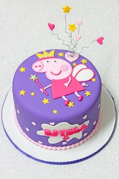 Pepa Pepa Peppa Pig can be a British preschool computer animated tv line developed Tortas Peppa Pig, Bolo Da Peppa Pig, Peppa Pig Birthday Cake, Birthday Cake Girls, Peppa Pig Cakes, 3rd Birthday, Aniversario Peppa Pig, Cupcake Cakes, Cupcakes