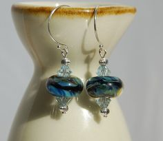 Gorgeous Glass Earrings!