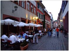 HEIDELBERG (GERMANY): In Heidelberg you will find a lot of cozy student pubs, breweries, wine bars and many more inviting places for a nice break.