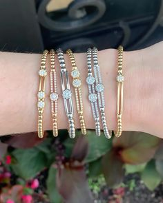 Our bracelets are made to wear casually every day but also for those special and memorable events to make you stand out. Cute Jewelry, Bridal Jewelry, Beaded Jewelry, Handmade Jewelry, Geek Jewelry, Swarovski Jewelry, Jewelry Bracelets, Jewelry Trends, Jewelry Accessories