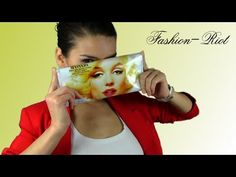 DIY - magazine cover clutch - awesome idea!!!