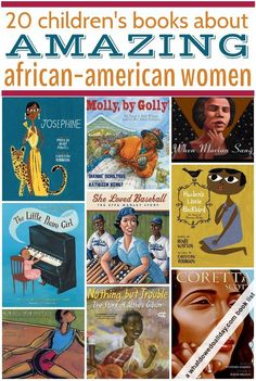 Biographies of African-American women. Good for Black history month or women's history month.