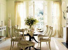 EGGSHELL CREAM CHIFFON curtain, sheer, window dressing, draping, home decor…