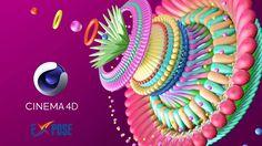 Cinema 4D Tutorial - Digital Flower Modeling for Beginner