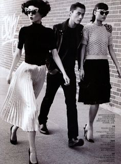 perm + bob + short fringe--wang xiao, lili zhi + zhao lei, by lincoln pilcher, vogue china march 2012