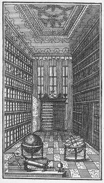 copper engraving by M. Lilienthal, 1735