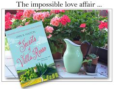 With Love for Books: The Secrets of Villa Rosso by Linn B. Halton - Cov...