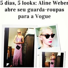 Aline Weber in the Stone Cold Fox Dogtown Dress in Vogue