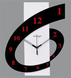 Random Six 'O' Clock Wall Clock by Random Online - Contemporary Clocks - Home Decor - Pepperfry ...