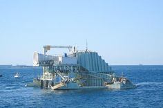 Sea Waves Plant Power Station to Generate Electricity
