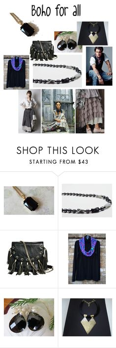"""""""Boho for all"""" by varivodamar ❤ liked on Polyvore featuring GUESS by Marciano, modern, rustic and vintage"""