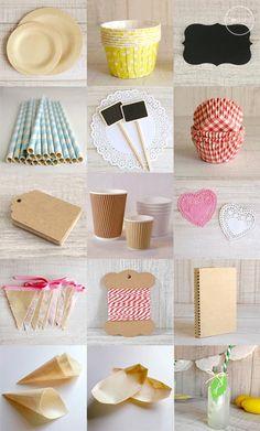 materiales para tus fiestas