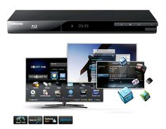 Turn your TV into a Smart TV with Samsung's Smart Blu-ray Player