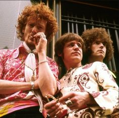 Ginger Baker, Jack Bruce and Eric Clapton made up the rock band trio 'Cream' 70s Music, Music Icon, Rock Music, Rock N Roll, Great Bands, Cool Bands, Cream Eric Clapton, Ginger Baker, Jack Bruce
