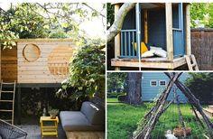 9 inspirerande kojor att bygga i trädgården (för både vuxna och barn!)