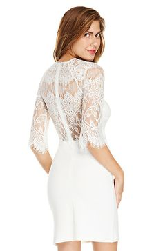BB Dakota Princeton Dress in White//