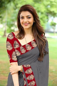 Blue Pepar Silk Designer Saree With Blouse Chanderi Silk Saree, Cotton Saree, Silk Sarees, Saris, Cotton Silk, Indian Dresses, Indian Outfits, Indian Clothes, Saree Embroidery Design